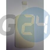 Lt26i xperia s kihúzós bőrtok fehér felirat nélküli Xperia S  E002134