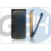 Slim flip bőrtok - sony xperia p (lt22i) - fekete PT-815