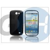 Samsung i8730 galaxy express szilikon hátlap - s-line - fekete PT-1126