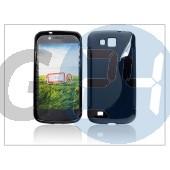 Samsung i9260 galaxy premier szilikon hátlap - fekete - s-line PT-883