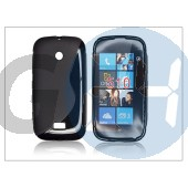 Nokia lumia 510 szilikon hátlap - s-line - fekete PT-806
