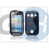Samsung s7710 galaxy xcover 2 szilikon hátlap - s-line - fekete PT-989