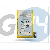 Apple iphone 3gs gyári akkumulátor - 616-0433 - li-ion 1200 mah (csomagolás nélküli) APL-0083