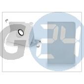 Apple ipad mini forgatható bőrtok - fehér PT-851