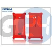 Nokia lumia 720 hátlap vezeték nélküli töltőhöz - cc-3064 - piros NOK-0649