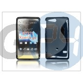 Sony xperia go (st27i) szilikon hátlap - s-line PT-638