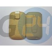 4g forcell egyszínű kihúzós tok bézs iPhone4/4s  E003933