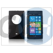 Nokia lumia 1020 szilikon hátlap - s-line - fekete PT-1327