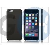 Apple iphone 6 eredeti gyári bőr hátlap - mgr62zm/a - black APL-0163