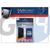 Apple ipad mini képernyővédő fólia - 1 db/csomag (privacy) LA-352