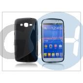Samsung sm-g7102 galaxy grand 2 szilikon hátlap - s-line - fekete PT-1777