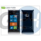 Nokia lumia 900 hátlap - case-mate pop - black CM018768