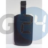 C3/c7/5800/5230/l610 kihúzós fekete bőrtok feliratos C3  E001601