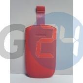 C3/c7/5800/5230/l610 kihúzós pink bőrtok feliratos C3  E001603