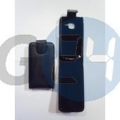 C3 felülcsattos fekete bőrtok C3  E000376