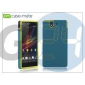 Sony xperia z (c6603) hátlap - case-mate tough - green/yellow CM026448