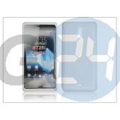 Sony xperia t (lt30p) szilikon hátlap - s-line - fehér PT-848
