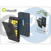 Nokia lumia 920 flipes tok képernyővédő fóliával - muvit slim - black I-MUSLI0135