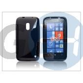 Nokia lumia 620 szilikon hátlap - s-line - fekete PT-868