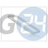 Apple iphone 5 védőkeret - bumper - fehér/átlátszó PT-785