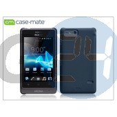 Sony xperia go (st27i) hátlap - case-mate barely there - black CM022236