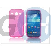 G3500 core plus pink hullámos szilikontok Galaxy Core Plus G350  E005190