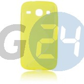 G3500 core plus citromsárga hullámos szilikontok Galaxy Core Plus G350  E005484