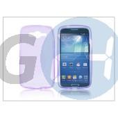 Samsung sm-g386 galaxy core lte szilikon hátlap - s-line - lila PT-1775