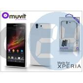 Sony xperia z (c6603) hátlap - made for xperia muvit minigel - white I-SESKI0023