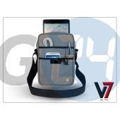 """Apple ipad mini/ipad mini 2 + univerzális tablet táska 8.1"""" méretű készülékig - v7 premium messenger bag - grey IM-TDM21GRY"""