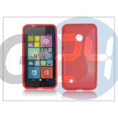 Nokia lumia 530 szilikon hátlap - s-line - piros PT-2010