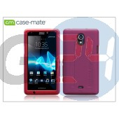 Sony xperia t (lt30p) hátlap - case-mate tough - pink CM022844