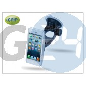 Apple iphone 5 autós telefontartó - igrip traveler kit - aluminium IGT5-100207
