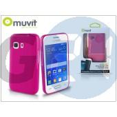 Samsung sm-g130 galaxy young 2 hátlap - muvit minigel - pink I-MUSKI0406