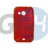 Htc desire 200 piros hullámos szilikontok Desire 200  E005092