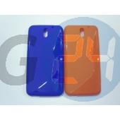 Htc desire 610 narancssárga hullámos szilikontok Desire 610  E006286