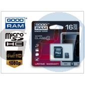16 gb microsdhc class 10 memóriakártya + sd adapter GR-018
