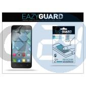 Alcatel one touch idol mini 6012d képernyővédő fólia - 2 db/csomag (crystal/antireflex) LA-496