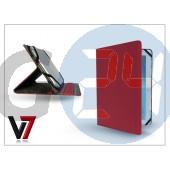 """Apple ipad mini/ipad mini 2 + univerzális tablet tok 7-8"""" méretű készülékig - v7 universal folio stand - red IM-TUC8RED"""