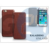 Apple iphone 6 flipes tok - kalaideng enland series - brown KD-0274