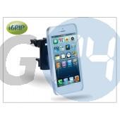 Apple iphone 5 szellőzőrácsba illeszthető autós telefontartó - igrip vent kit - aluminium IGT5-100107