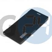 Lumia 625 elegant oldaltnyitós tok - bliszteres, fekete  E004507