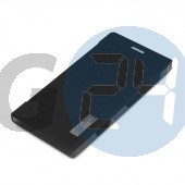 N9005 note 3 elegant oldaltnyitós tok - bliszteres, fekete Note3  E004343