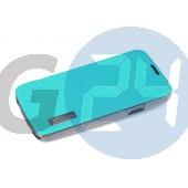 N9005 note 3 elegant oldaltnyitós tok - bliszteres, türkizzöld Note3  E004505