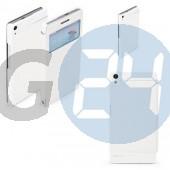 Huawei p6 excel kivágott oldaltnyitós tok - fehér P6  E004629