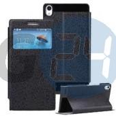 Huawei p6 excel kivágott oldaltnyitós tok - fekete P6  E004628