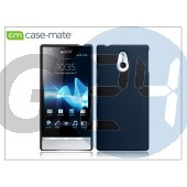 Sony xperia p (lt22i) hátlap - case-mate barely there - black CM020773