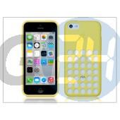 Apple iphone 5c eredeti gyári hátlap - mf038zm/a - yellow APL-0121