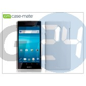 Sony xperia ion (lt28i) hátlap - case-mate barely there - white CM020453