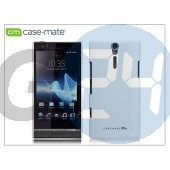 Sony xperia s (lt26i) hátlap - case-mate barely there - white CM020249